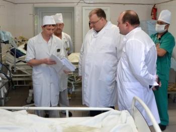 Во время рабочей поездки вСеров Андреем Цветковым принят ряд решений по развитию здравоохранения севера Свердловской области